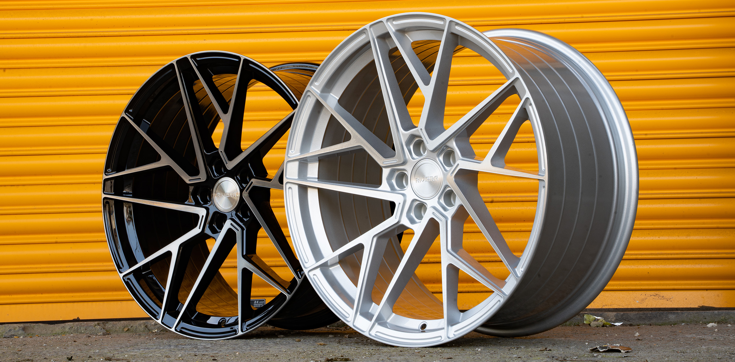 Riviera RF106 20 Load Rated Flow Formed Alloy Wheels for Volkswagen Transporter
