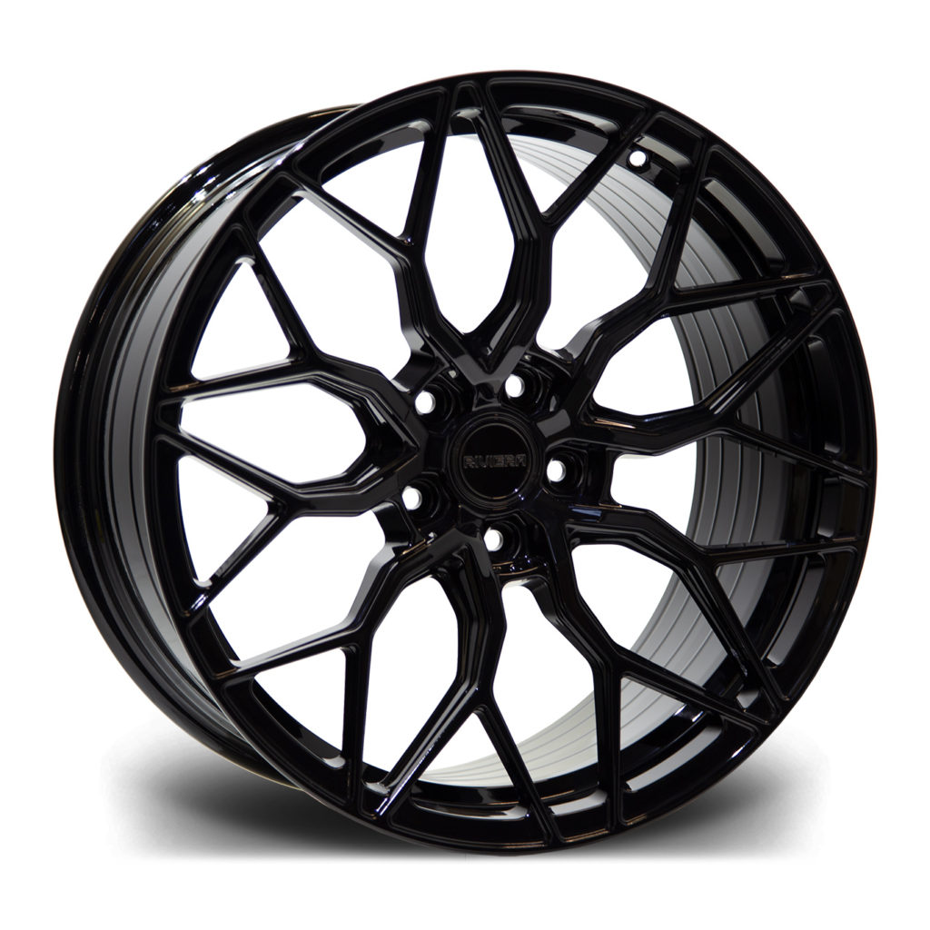 Riviera RF108 Gloss Black Flow Formed Wheel